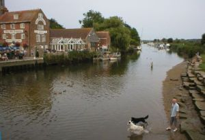 River Frome at Wareham