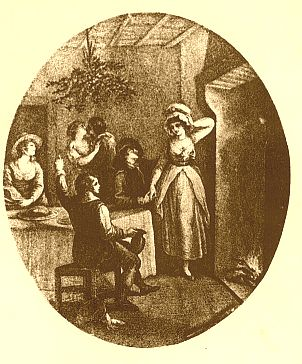 Vignette showing Mistletoe