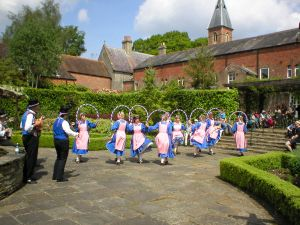 Morris Dancers at Stapehill Abbey