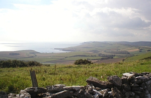 Swyre Head view SW