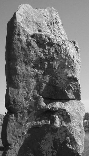 Avebury Stone Faces