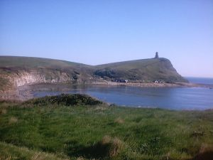 Clavel Tower, on Kimmeridge Bay, Dorset