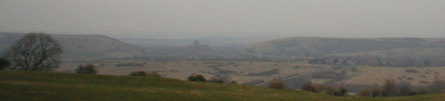 Corfe, from the south