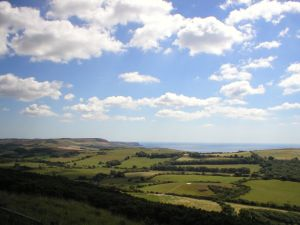 View from the Purbeck Hills