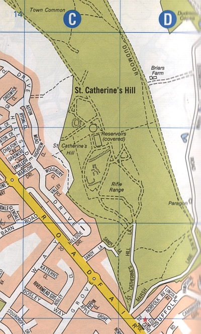 The St Catherine's Hill Mystery Site
